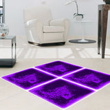 "Liquid Fusion - Liquid Floor Tiles - Purple Passion - 12"" x 12"" - Designer Ceiling Tiles"