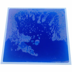 "Liquid Fusion - Liquid Floor Tiles - Blue - 12"" x 12"" - Designer Ceiling Tiles"