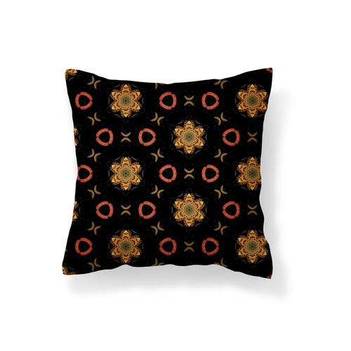 Butterfly Flowers Pillow