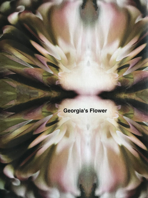 Fabric Remnant: Georgia's Flower
