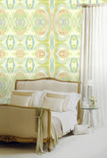 Vintage Swirls Spring Wallpaper