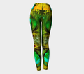 Women's green turquoise leggings