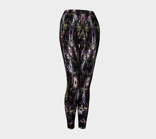 Modern Floral Leggings