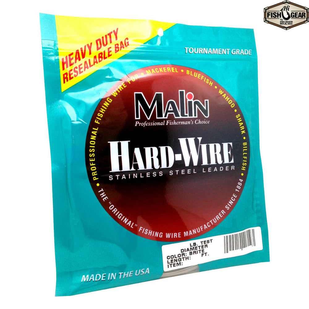 Malin Hard-Wire Stainless Steel Leader
