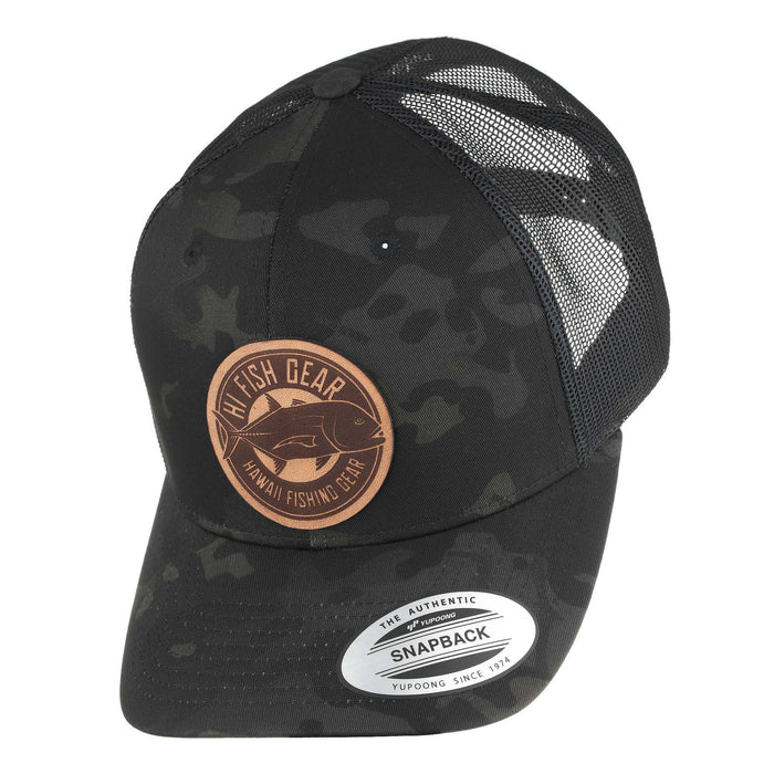 HFG - Ulua Leather MultiCam® Black Classic Snapback Trucker