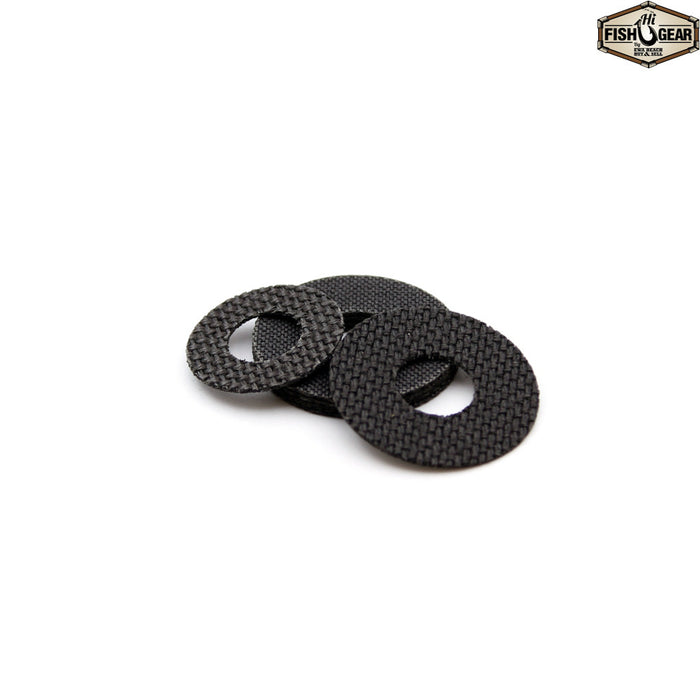 Carbontex Carbon Fiber Drag Washers for Penn, Newell, Shimano & Daiwa
