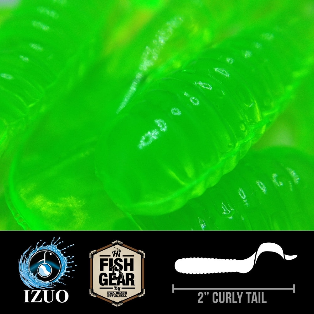 "Izuo Flo Green 2"" CT 10 Pack"