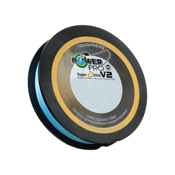 PowerPro Super 8 Slick V2 Braided Line Blue