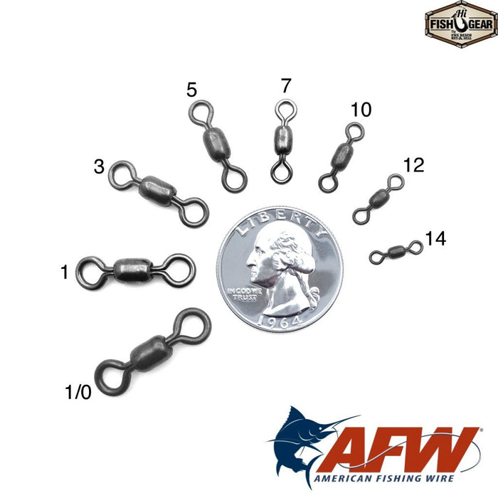 AFW Mighty-Mini SS Crane Swivels