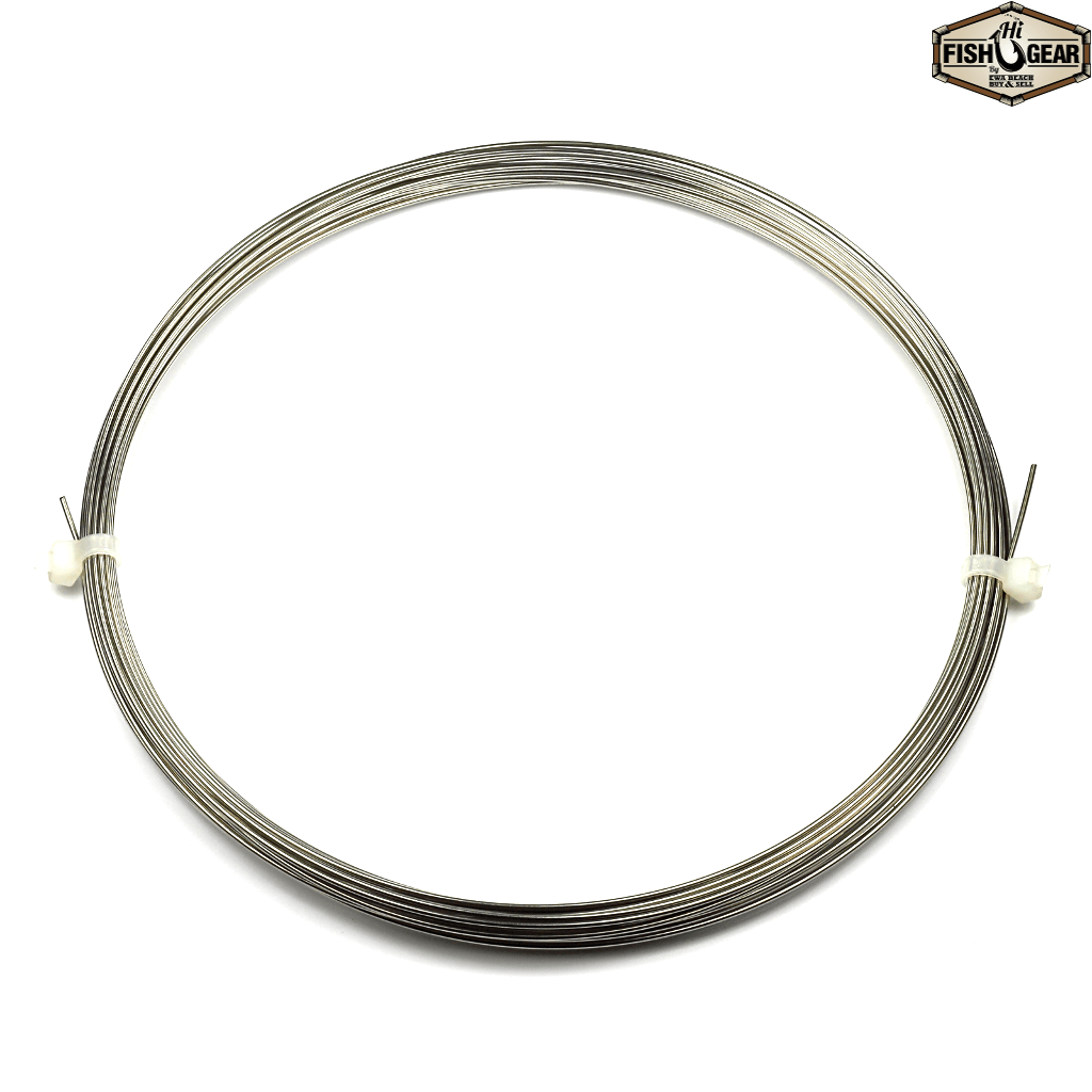 Afw Toothproof Stainless Steel Single Strand Leader 30 Coil Hifishgear