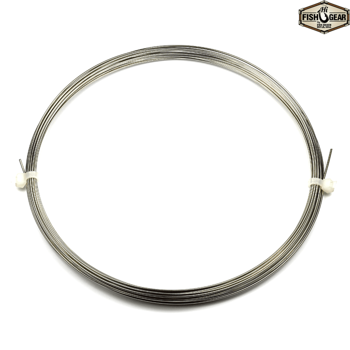 AFW ToothProof Stainless Steel Single Strand Leader 30' Coil