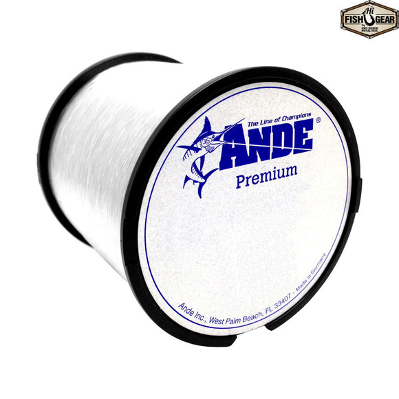 Ande premium monofilament line clear hifishgear for Ande fishing line
