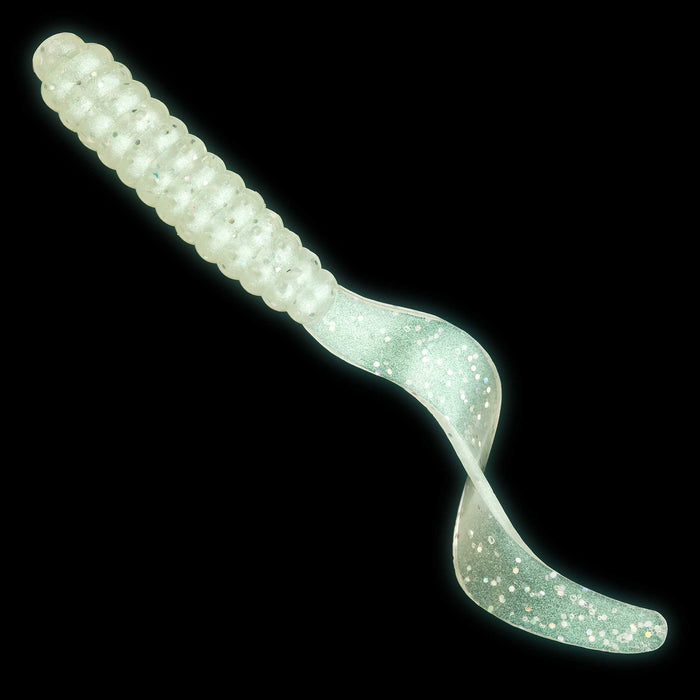 Campania Lures Curly Tail Glow Grubs