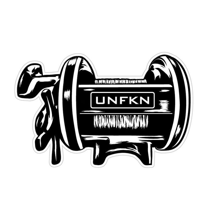 "HFG 5"" Vinyl UNFKN Reel Sticker"