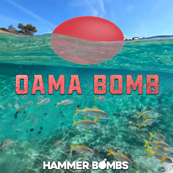 "HammerBombs  - One-Time Run!  1.5oz Floating ""Oama Bomb"""