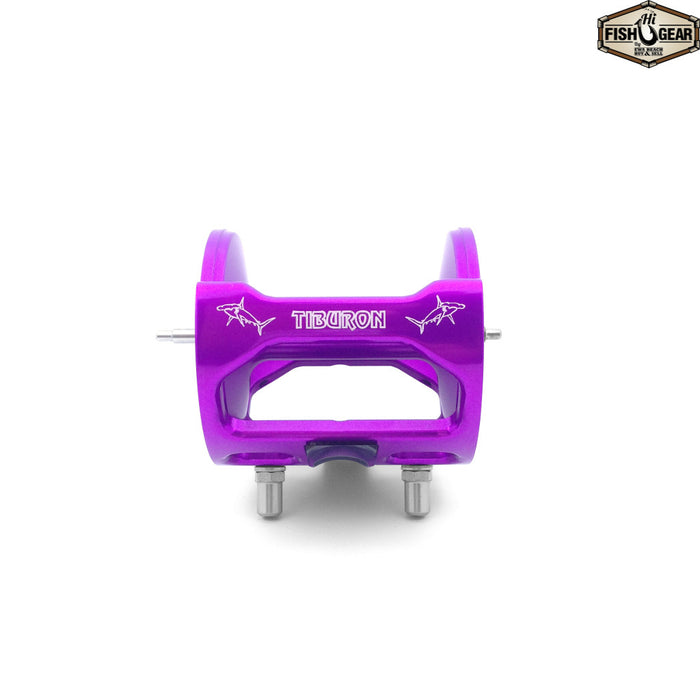 Purple Tiburon Jigmaster Yellowfin Frame and Spool Kit