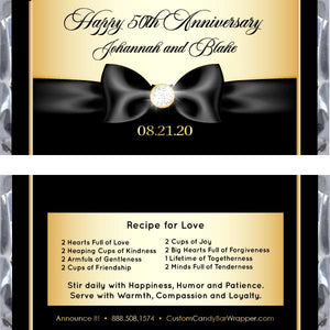 Anniversary Party Favors A New Tradition for Milestone Celebrations