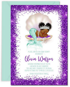 DIY Baby Shower Invitation Templates