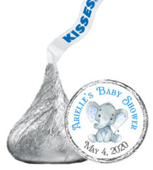 Baby Shower Hershey Kisses Stickers