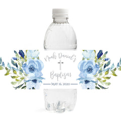 Baptism Water Bottle Labels