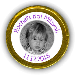 Bat and Bar Mitzvah Chocolate Coins