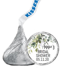 Bridal Shower Hershey Kisses Stickers