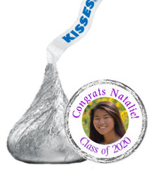 Graduation Hershey Kisses Stickers