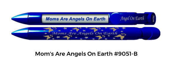 Mom's Are Angels On Earth #9051-B