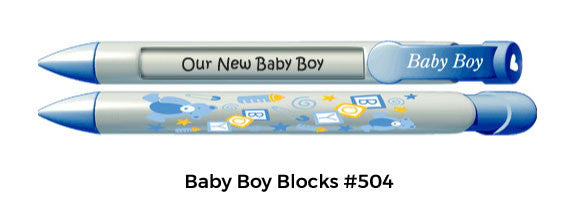 Baby Boy Blocks #504