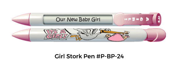 Girl Stork Pen #P-BP-24