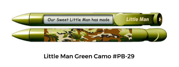 Little Man Green Camo #PB-29