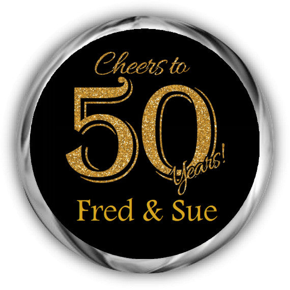 50th Anniversary Cheers Sticker