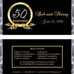 Diamond 50th Anniversary Wrapper