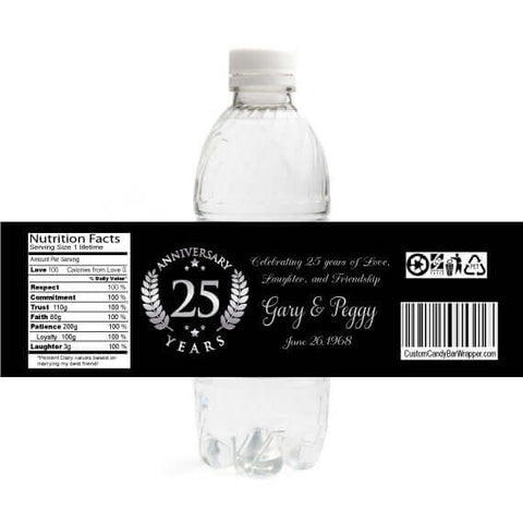 25th Anniversary Bottle Labels