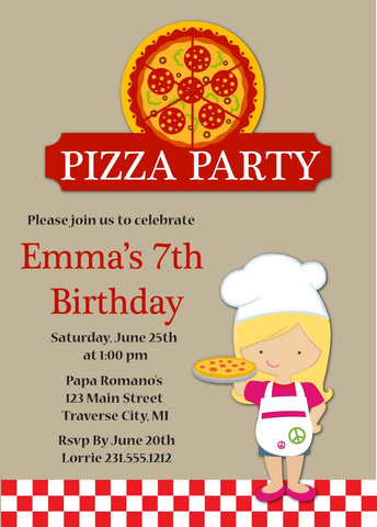 Kids Birthday Party Invitations Announce It