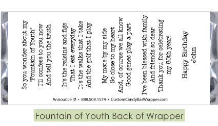 Fountain of Youth Back