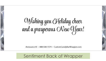 Sentiments Back of Wrapper