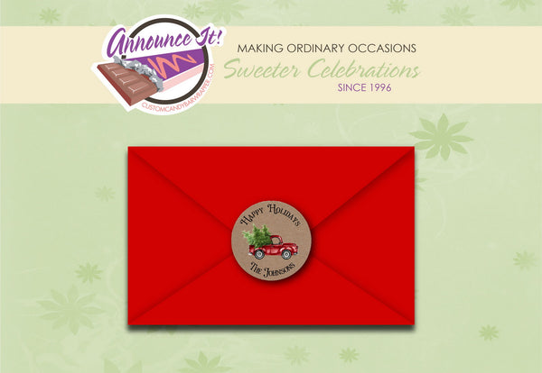 Christmas Envelope Seals
