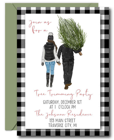 Tree Trimming Invitation