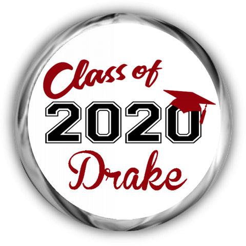 Class of 2020 Graduation Stickers
