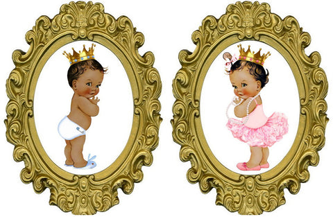 Prince or Princess? Gender Reveal Prints