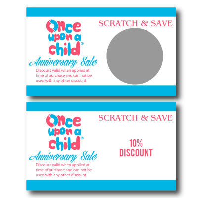 Business Scratch Off Cards