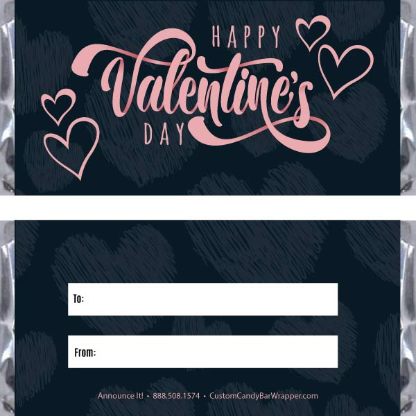 Cute Valentine's Day Candy Bar Wrappers