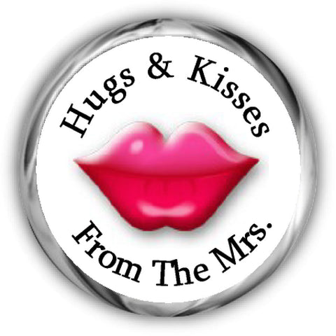 Lips Valentine's Day Kisses Stickers