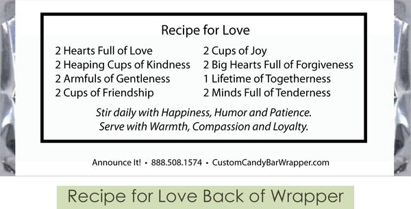 Recipe of Love Back