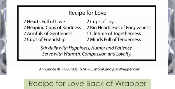 Recipe for Love Back