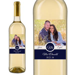 Photo Wedding Wine Labels