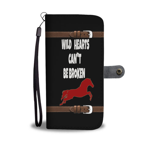 Wild Hearts Can't Be Broken wallet phone case