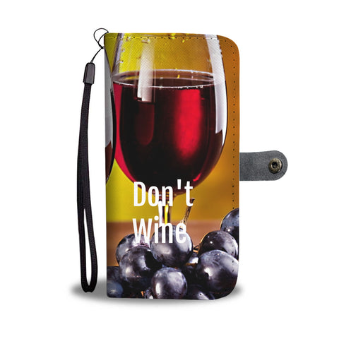 Wine Lovers wallet phone case