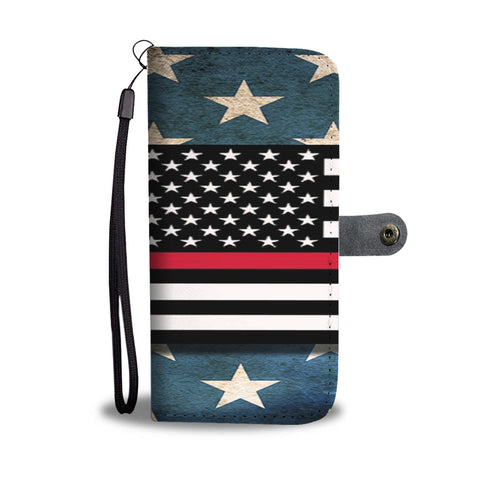 Firefighters wallet phone case